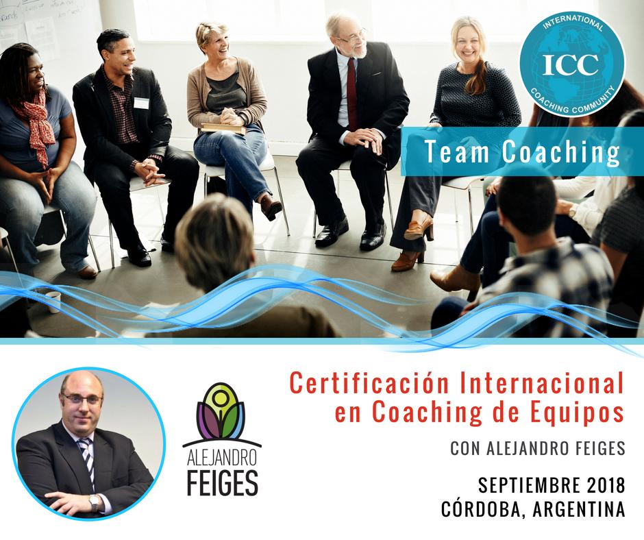 Certificación Internacional en Coaching de Equipos