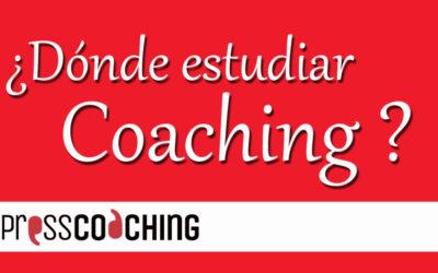 ¿Donde estudiar Coaching? Entrevista para PressCoaching