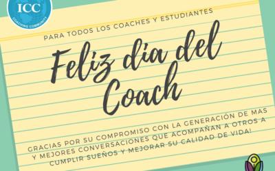 Feliz día del Coach!