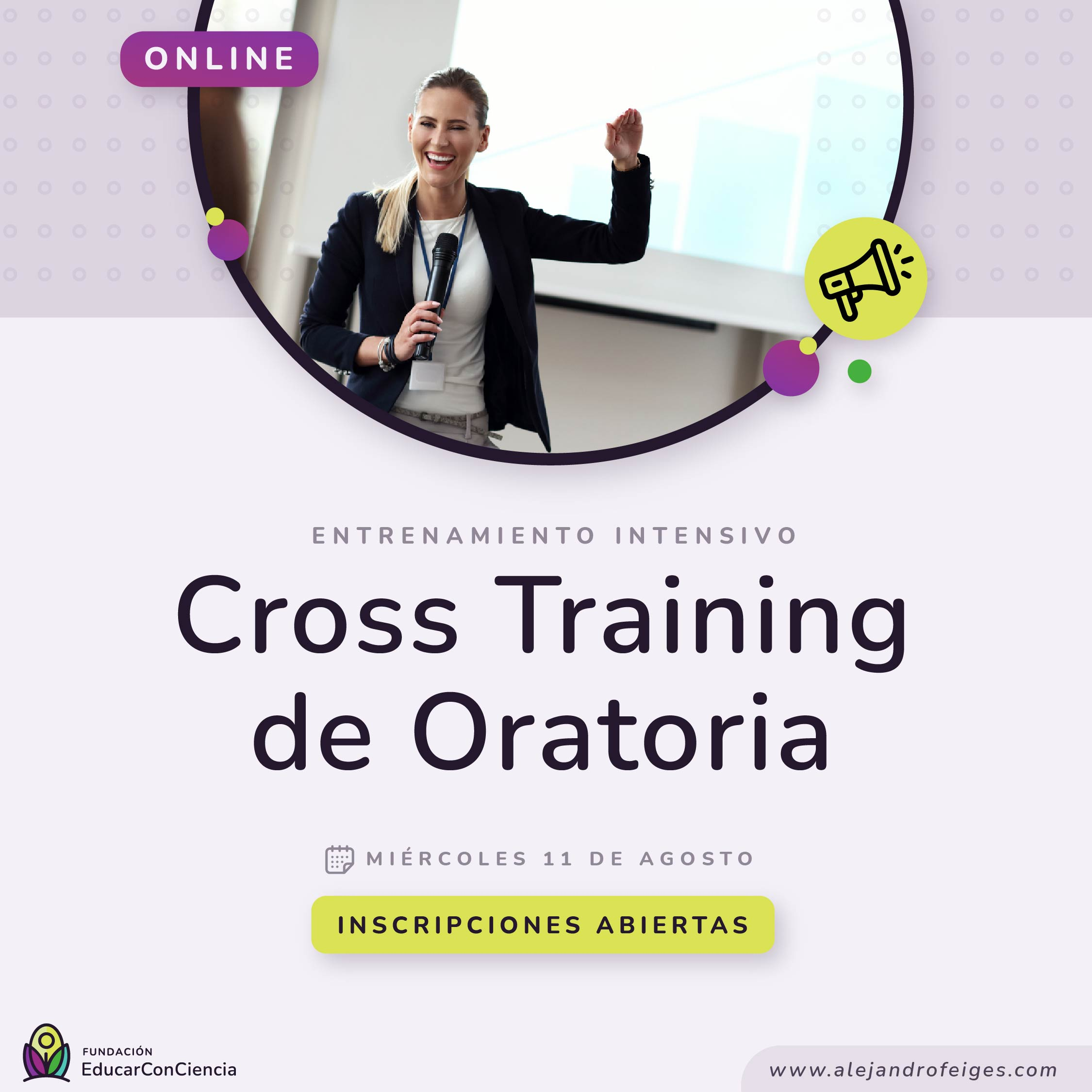 Crosstraining de Oratoria
